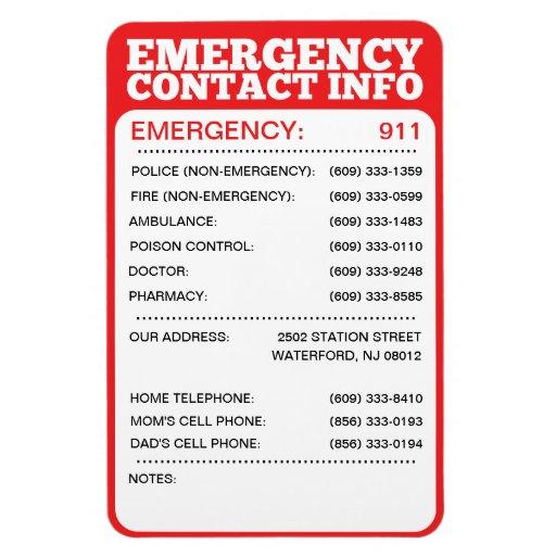 Tornado plans, www fema gov disasters, daycare emergency phone - printable office supply list
