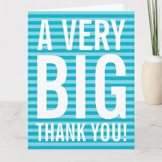 Employee appreciation business thank you card Zazzle