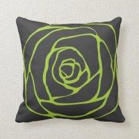 Expensive cushion Flower Throw Pillows | Zazzle
