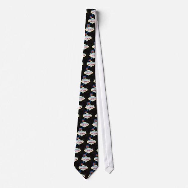 Fabulous Las Vegas Sign Men39s Clothing Neck Tie Zazzlecom