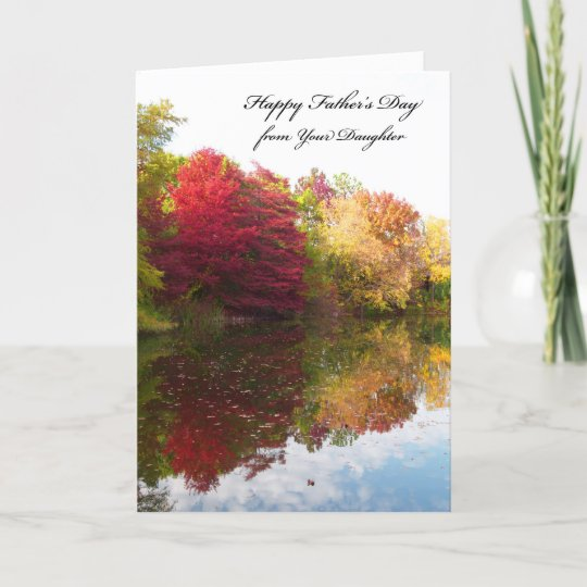 Fathers Day Card from Daughter Zazzle