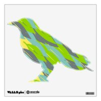 Raven Wall Decals & Wall Stickers | Zazzle