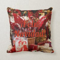Spanish Christmas Pillows - Decorative & Throw Pillows ...
