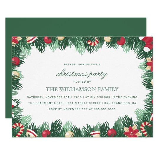 christmas borders for invitations