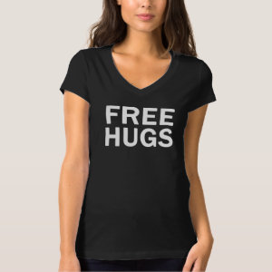 Free Hugs Bella V Neck - Women's Official T-Shirt