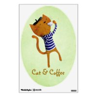 French Cat Art & Framed Artwork | Zazzle
