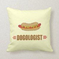 Hot Dog Pillows - Decorative & Throw Pillows | Zazzle