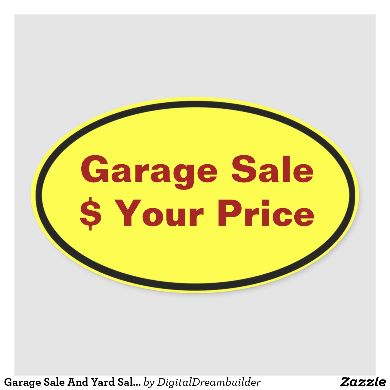 Garage Sale Price Stickers Garage Yard Sale Price Stickers Labels 50 Percent Off