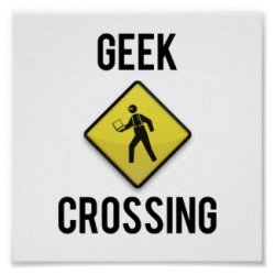 Geek Crossing Poster