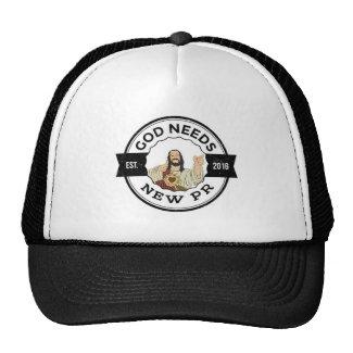 God Needs New PR Hat