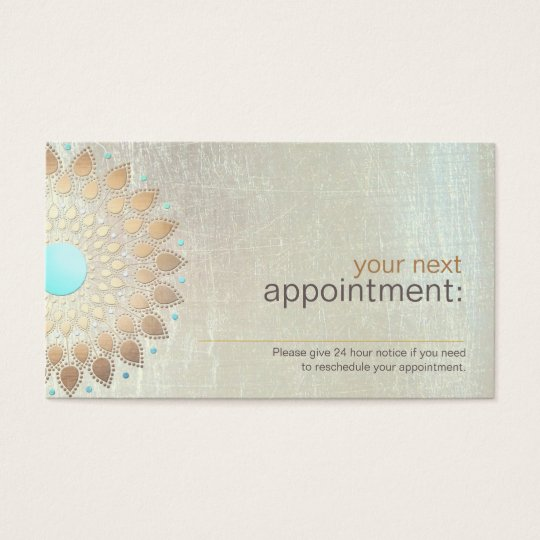 Appointment Reminder Business Cards \ Templates Zazzle - sample appointment card template