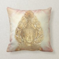 Golden Buddha Pillows - Decorative & Throw Pillows | Zazzle