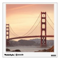 Golden Gate Bridge Wall Sticker | Zazzle.com