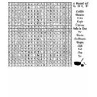 Word Search Puzzle Geeks T-Shirts & Gifts - Golf