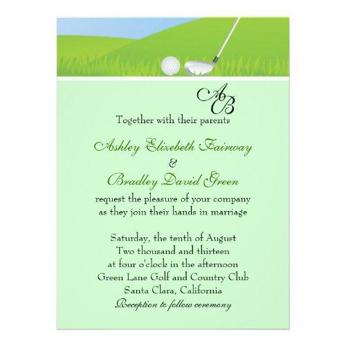 golf wedding invitations Archives - Lots of Wedding Ideas