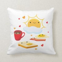 Good Morning Pillow | Zazzle