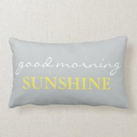 """""""Good Morning Sunshine"""" Accent Bed Pillow 