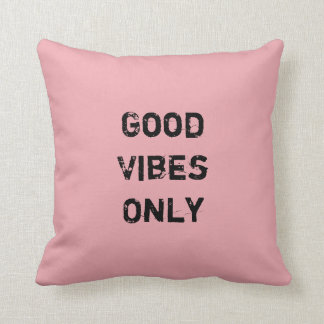 Good Vibes Pillows Decorative Throw Pillows Zazzle
