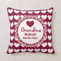 Grandmother Pillows - Decorative & Throw Pillows | Zazzle