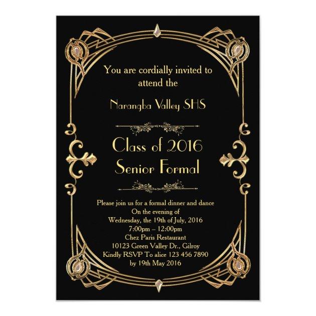 Personalized Senior prom Invitations CustomInvitations4U - prom invitation templates