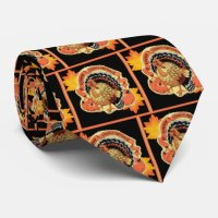 Happy Thanksgiving Neck Tie | Zazzle