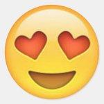 Heart Emoji Heart Eyes Emoji Sticker