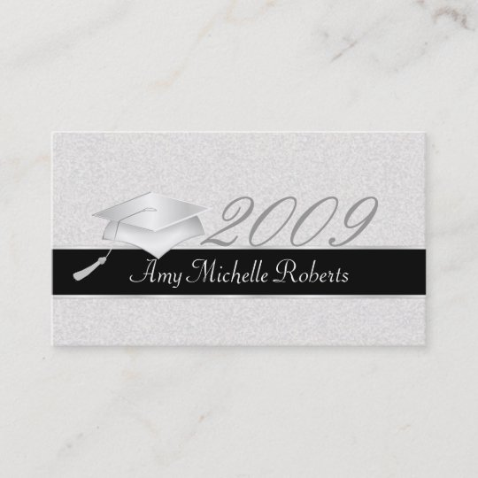 High School Graduation Name Cards - 2009 Zazzle