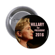 Hillary Clinton for President 2016 Pins