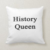 History Pillows - Decorative & Throw Pillows | Zazzle