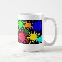 Ink Splat Coffee Mug | Zazzle