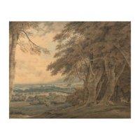 Joseph Mallord William Turner - Windsor Wood Wall Art | Zazzle