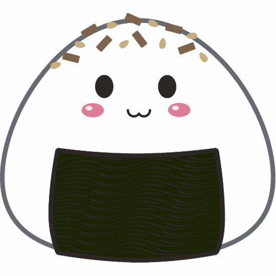Onigiri Cute Wallpaper Kawaii Quot Onigiri Quot Rice Ball With Toppings Statuette