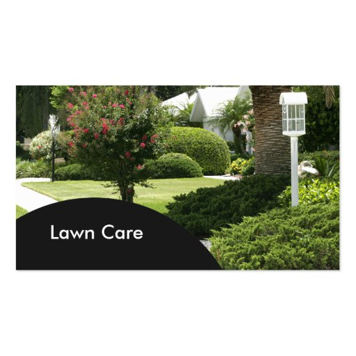 Lawn mowing service Business Card Templates - Page2 BizCardStudio - lawn care business cards
