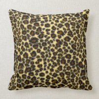 Leopard Print Pillow | Zazzle