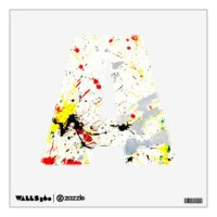 Brush Strokes Wall Decals & Wall Stickers | Zazzle