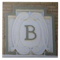 Letter B Ceramic Tiles | Zazzle