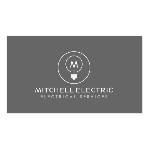 Electrical Business Card Templates - Page3 BizCardStudio