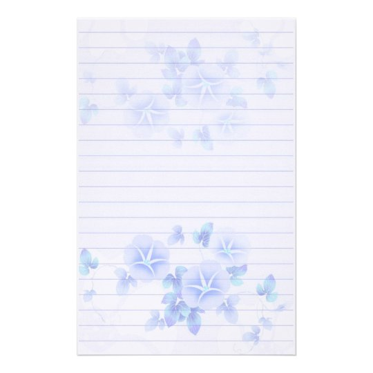 flower stationery paper - Intoanysearch - lined stationery paper
