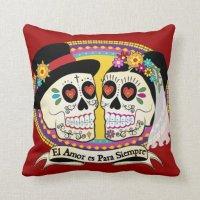 Los Novios (Spanish) Pillow | Zazzle