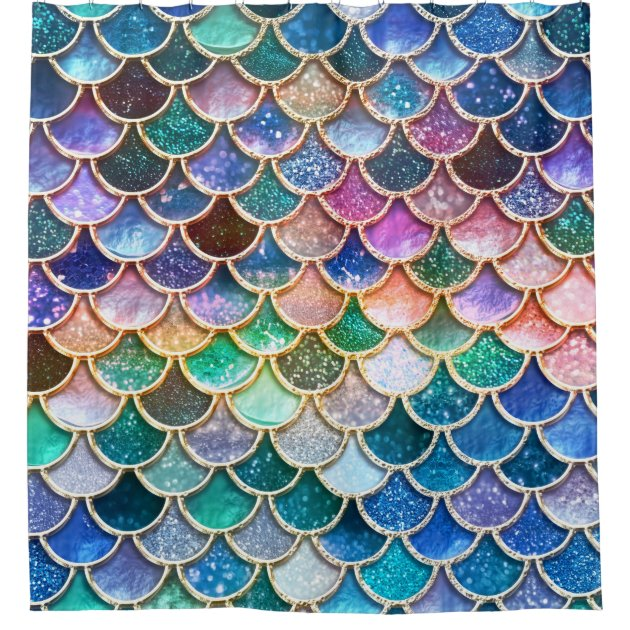 Create Your Own Iphone Wallpaper Luxury Summerly Multicolor Glitter Mermaid Scales Shower