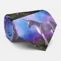 Majestic Unicorn Tie | Zazzle