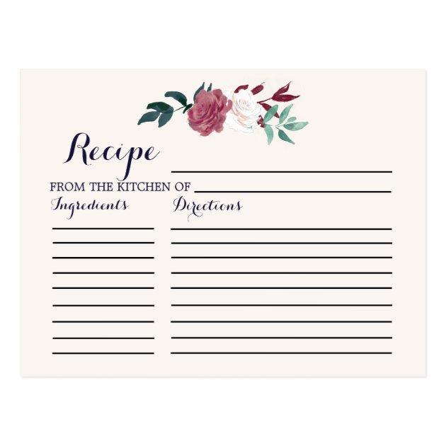 Holiday Recipe Card Template - Eliolera - free recipe card templates for microsoft word