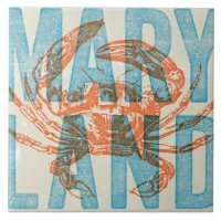 Maryland Crab Ceramic Tile | Zazzle