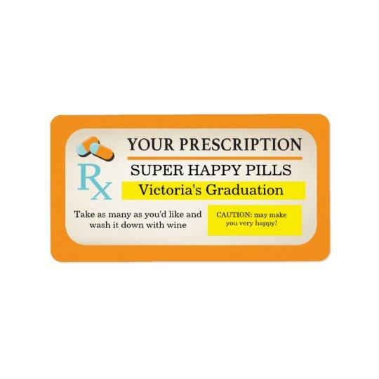 Medical prescription labels Nurse party favors Zazzle