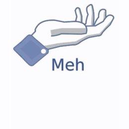 Facebook Meh Button