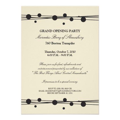 Invitation Card Design For Grand Opening – Grand Opening Invitation Cards