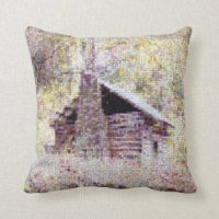 Mountain Cabin Pillows - Decorative & Throw Pillows | Zazzle