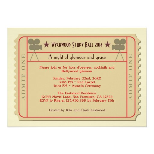 blank vintage ticket template - Ball Ticket Template