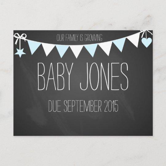 New baby announcement baby photo prop Zazzle