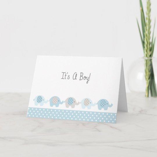 New Baby Boy Congratulations Card Zazzle